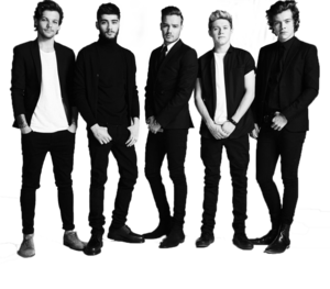 One Direction PNG Transparent PNG Clip art