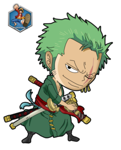One Piece Chibi PNG Pic PNG Clip art