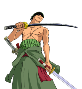 One Piece Zoro PNG File PNG Clip art