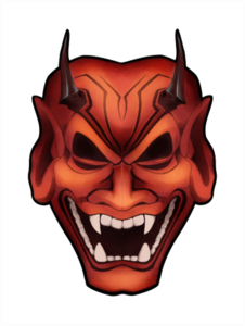 Oni Mask PNG Clipart PNG Clip art