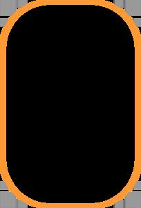 Orange Border Frame PNG Clipart PNG Clip art