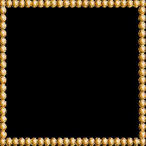 Orange Border Frame PNG File PNG Clip art