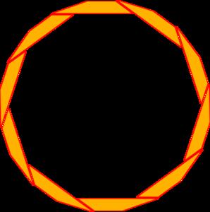Orange Border Frame PNG Free Download PNG Clip art