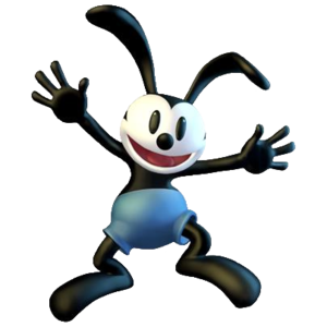Oswald The Lucky Rabbit Transparent Background PNG Clip art