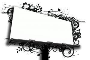 Outdoor Billboard PNG File PNG images