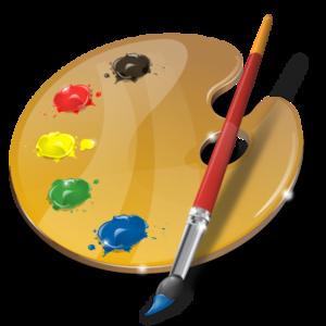Paint Palette Background PNG PNG Clip art