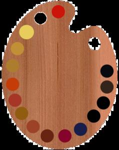 Paint Palette PNG Transparent PNG Clip art