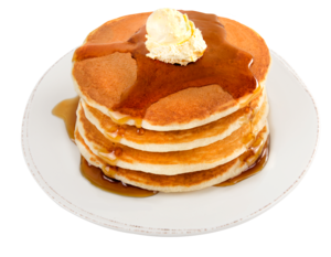 Pancakes Transparent PNG PNG icon