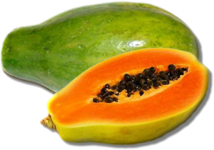 Papaya Transparent Background PNG Clip art