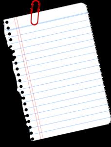 Paper Sheet PNG Background PNG Clip art