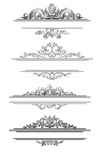Pattern Border Background PNG PNG Clip art