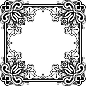 Pattern Border PNG Picture Clip art