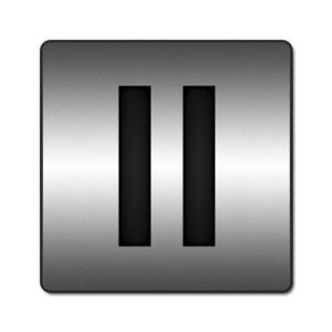 Pause Button PNG Pic PNG icon