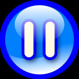 Pause Button Transparent Background PNG Clip art