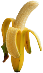 Peal Off Banana Head PNG PNG Clip art