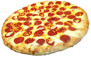 Pepperoni Pizza Transparent PNG PNG Clip art