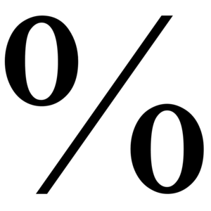Percent PNG Transparent Picture PNG Clip art