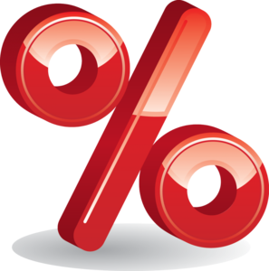 Percentage Transparent PNG PNG Clip art