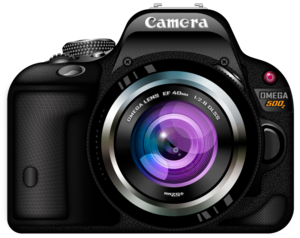 Photo Camera PNG Pic PNG Clip art