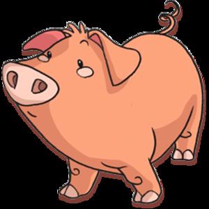 Pig Transparent Background PNG Clip art