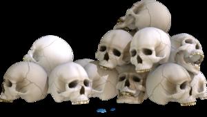 Pile of Skulls PNG Clipart PNG Clip art