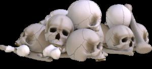 Pile of Skulls PNG Image PNG Clip art