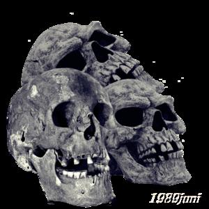 Pile of Skulls PNG Transparent Image PNG Clip art