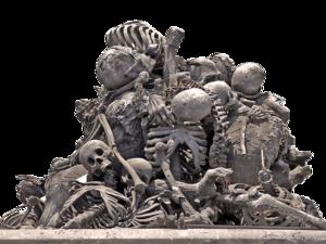 Pile of Skulls Transparent Background PNG Clip art