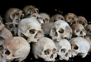 Pile of Skulls Transparent PNG PNG Clip art