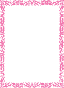 Pink Border Frame PNG Photos PNG icon