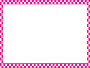 Pink Border Frame PNG Pic PNG Clip art