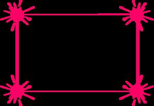 Pink Border Frame PNG Transparent PNG Clip art