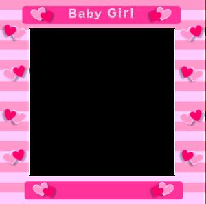 Pink Border Frame Transparent PNG PNG Clip art