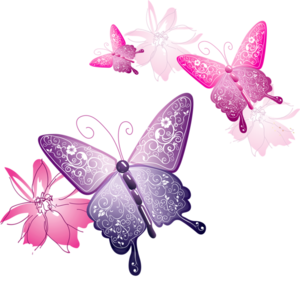 Pink Butterfly PNG Clip art
