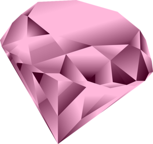 Pink Diamond Heart PNG Clipart PNG icons