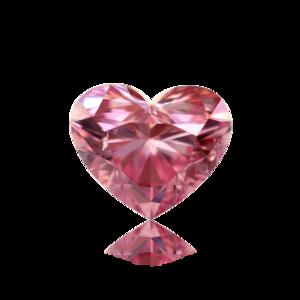Pink Diamond Heart PNG HD PNG Clip art