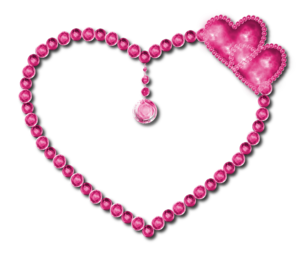 Pink Diamond Heart PNG Pic PNG Clip art