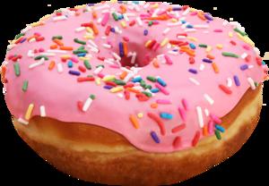 Pink Donut PNG File PNG Clip art