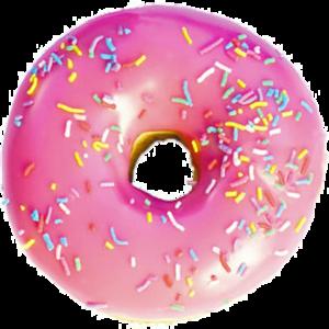 Pink Donut PNG Image PNG Clip art