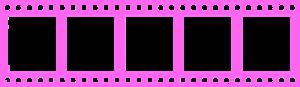 Pink Filmstrip PNG HD PNG Clip art