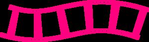 Pink Filmstrip PNG Image PNG Clip art