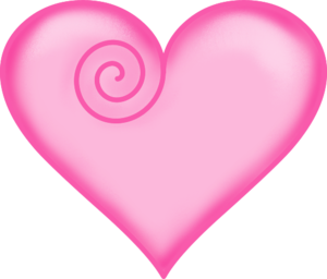 Pink Heart PNG File PNG Clip art