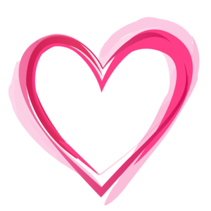 Pink Heart PNG Pic PNG icons