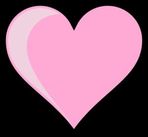 Pink Heart Transparent Background PNG Clip art