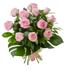 Pink Roses Flowers Bouquet PNG Photo PNG Clip art