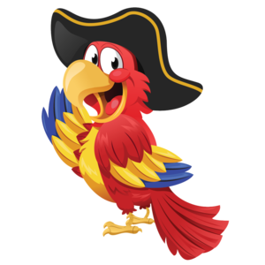 Pirate Parrot PNG Clipart PNG Clip art