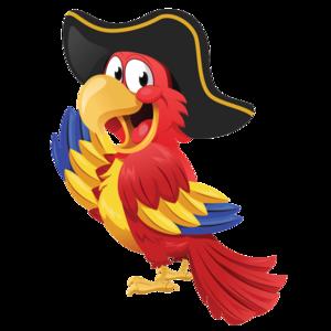 Pirate Parrot PNG Clipart PNG Clip art