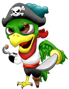 Pirate Parrot PNG Image PNG Clip art