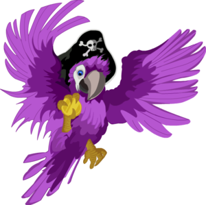 Pirate Parrot Transparent PNG PNG Clip art