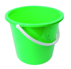 Plastic Bucket Transparent Background PNG icon